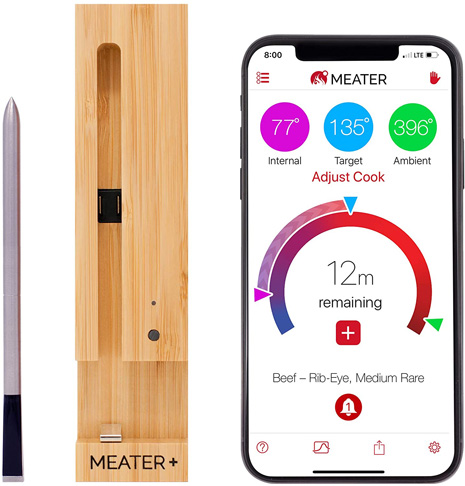 3. New MEATER+ Smart Wireless Meat Thermometer
