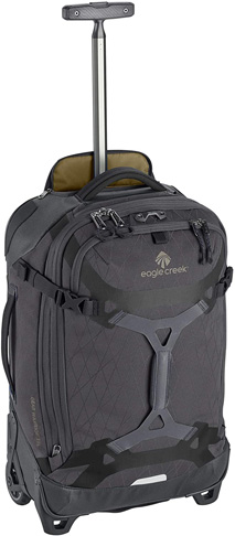5. Eagle Creek Gear Softside 2Warrior Carry-On Wheeled Luggage -Preferred