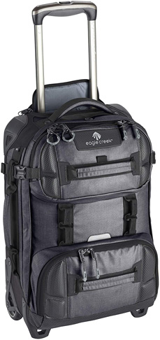 10. Eagle Creek ORV 2-Wheel International Carry-On Rolling Duffel