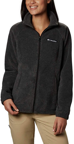 1. Columbia Women's Benton Springs Full Zip Jacket - Preferred