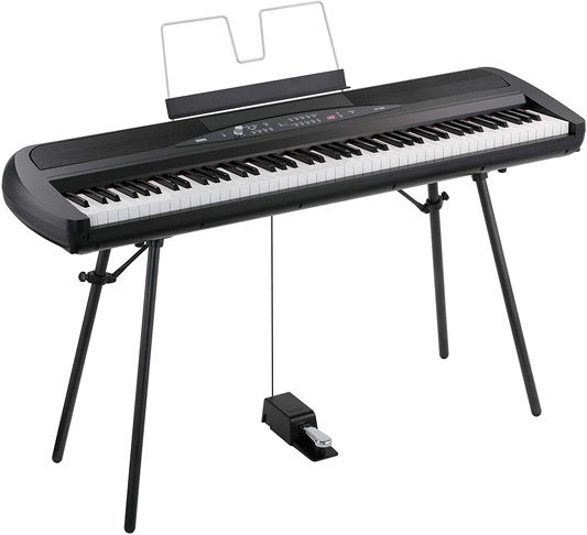 5. Korg SP280BK 88-Key Digital Piano with Speaker