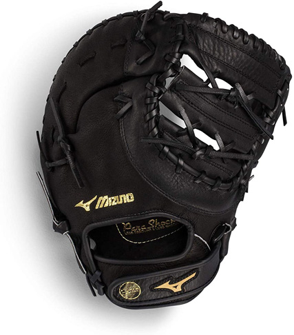 1. Mizuno Youth Prospect First Baseman Mitt (GXF102) - Preferred