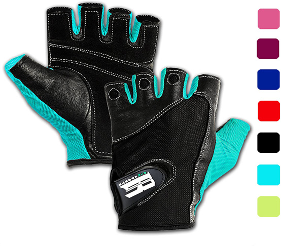 3. RIMSports Gym Gloves for Powerlifting