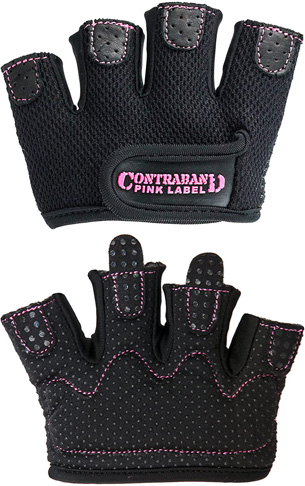 10. Contraband Pink Label 5537 Womens Micro Weight Lifting Gloves - Preferred