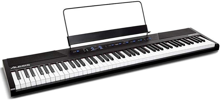 1. Alesis Recital 88 Key Beginner Digital Piano -Preferred
