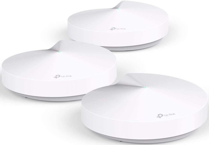 4. TP-Link M5 Deco Mesh WiFi (3-pack) -Preferred