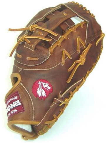 6. Nokona W-N70 13 Inch Walnut Series First Base Mitt - Preferred