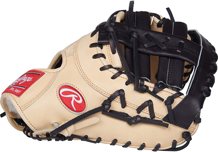 "3. Rawlings 13"" Camel W/Black Trim PROSDCTC Pro Preferred - Preferred"