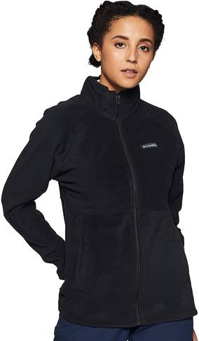 10. Columbia Women's Basin Trail Fleece Full Zip