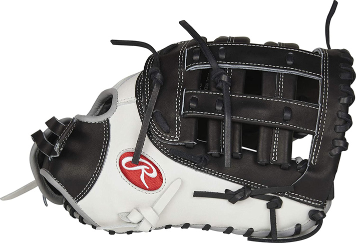 "10. Rawlings PROFM19SB -17BW 13"" Fastpitch First Base Mitt"