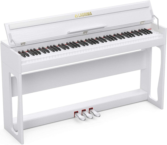 9. LAGRIMA LG-802 88-Key Digital Piano