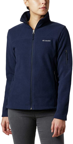 5. Columbia Women's Fast Trek Ii Full Zip Soft Fleece Jacket - Preferred