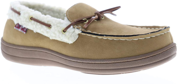10. Ben Sherman Men's Milton House Shoes Moccasin Slippers - Preferred
