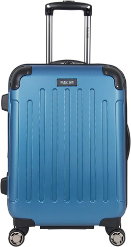 """5. Kenneth Cole Reaction 20"""" Renegade Lightweight Carry-On, Vivid Blue"""