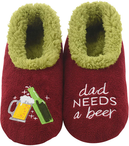 7. Snoozies Comfortable Mens Pairable Slippers - Preferred