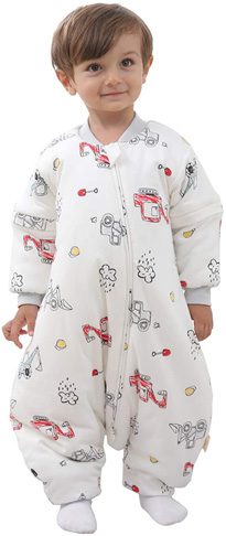 9. Mosebears Baby Winter Sleeping Bag with Legs