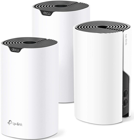 5. TP-Link S4 Deco Whole Home Mesh WiFi System (Deco S4 3-Pack) -Preferred