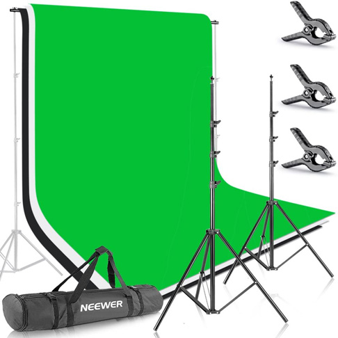 4. Neewer 8.5ft X 10ft Background Stand Support System