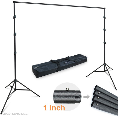 10. Linco Lincostore Backdrop Photography Support System Kit