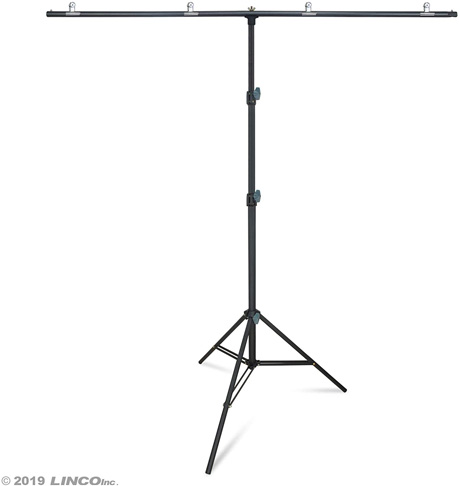 6. Linco Lincostore Zenith T-Shape Background Backdrop Stand Kit