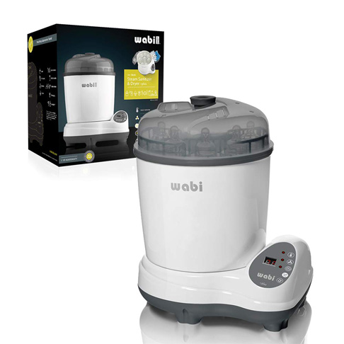 2. Wabi Baby Electric Steam Sterilizer and Dryer