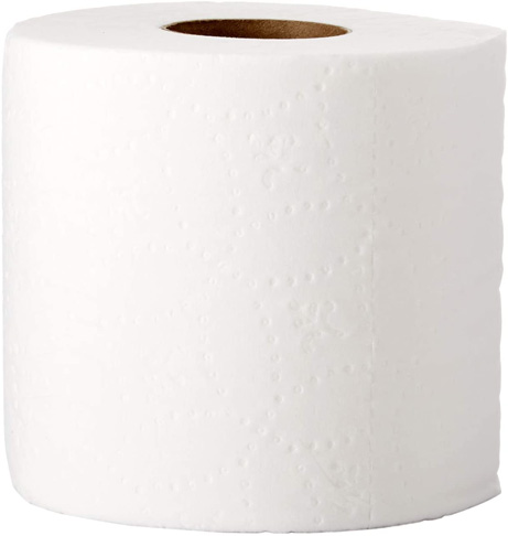 6. AmazonCommercial 80 Rolls Toilet Paper -Preferred