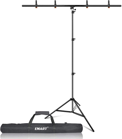 5. Emart T-Shape Portable Background Backdrop Support Stand Kit -Preferred