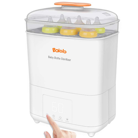 5. Bololo Baby Bottle Electric Steam Sterilizer and Dryer
