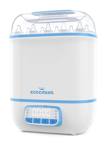 6. Eccomum Baby Bottle Sterilizer and Dryer
