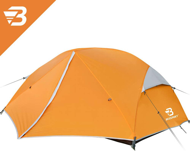 5. Bessport 3 and 2 Person Backpacking Tent -Preferred