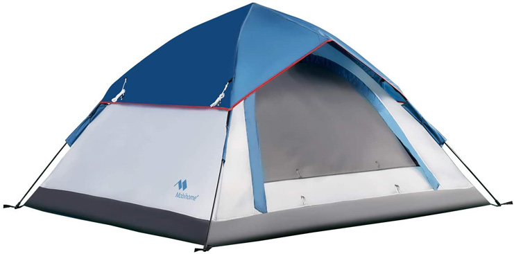 8. Mobihome 3 Person Tents for Backpacking