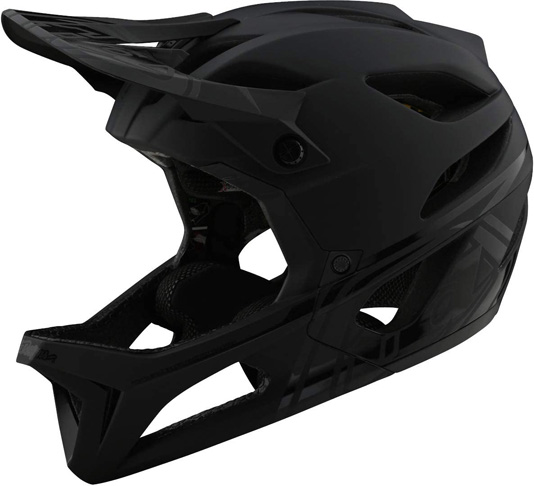 4. Troy Lee Designs Stage Full Face Mountain Bike Helmet -Preferred