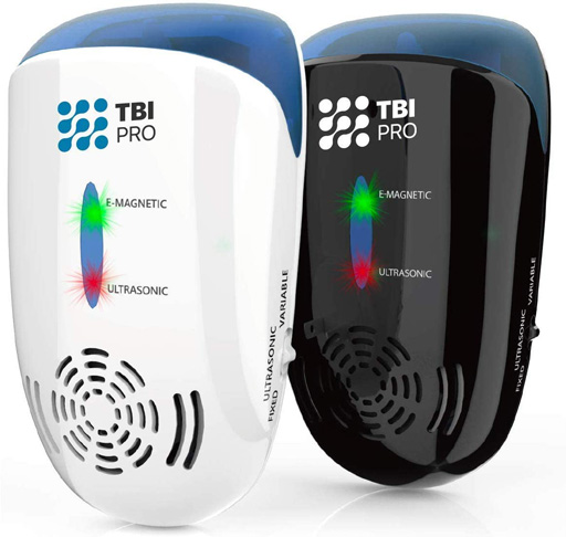 5. TBI Pro Ultrasonic Pest & Mosquito Repeller (2-Pack)
