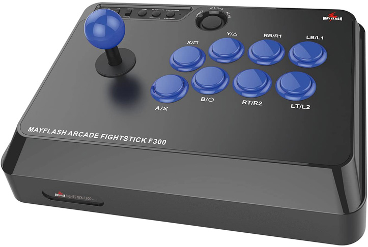 1. Mayflash F300 Arcade Fight Stick Joystick for PC