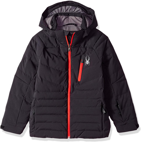 8. Spyder boys Synthetic Down Ski Jacket Impulse -Preferred