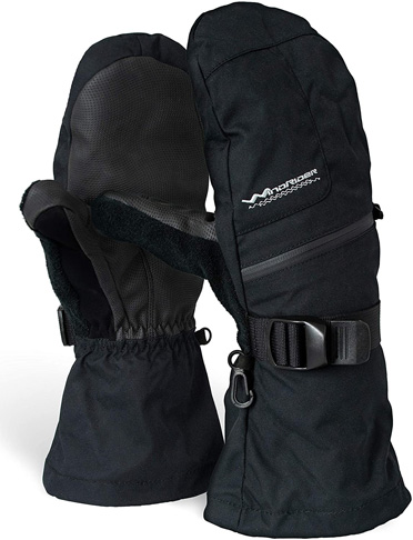 8. WindRider Rugged Waterproof Ski Mittens, Medium Weight