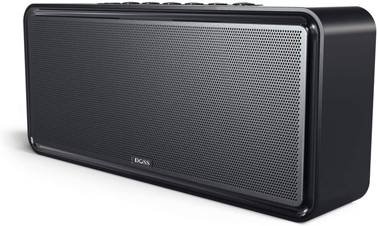 4. DOSS Upgraded Bluetooth Home Speaker