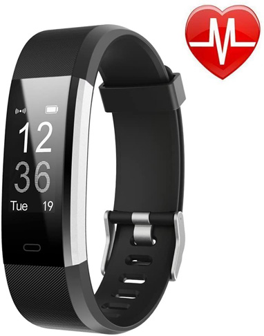 1. LETSCOM Fitness Tracker HR for Women and Men