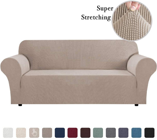 9. Flamingo P Store Sofa Slip Cover for Leather Cover