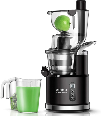 5. Aeitto Cold Press Slow Masticating Juicer -Preferred