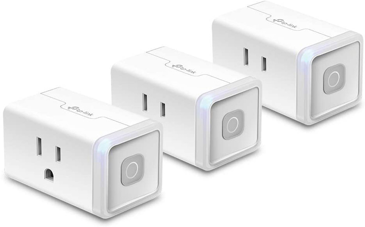 8. Kasa HS103P3 Smart Plug by TP-Link, 3 Pack - Preferred