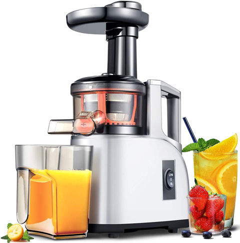 4. AMZCHEF Slow Cold Press Masticating Juicer -Preferred