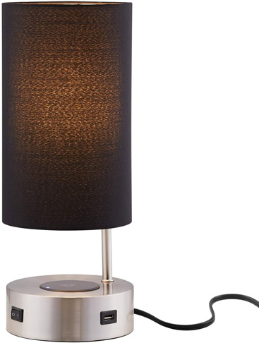 9. Lampression Nightstand Lamp with Wireless Charging -Preferred