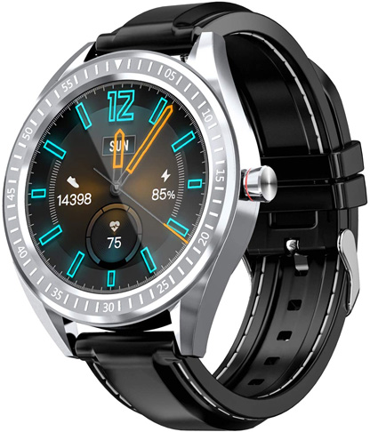 """6. COULAX 1.4"""" Touch Screen Smart Watch for Women and Men"""