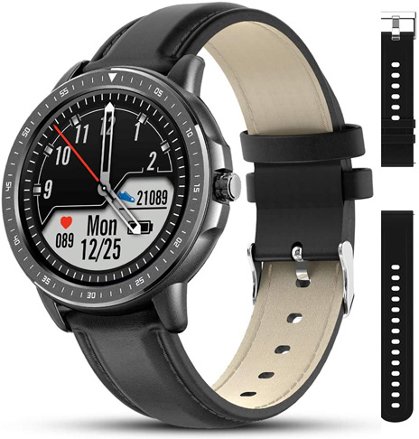 7. AMATAGE Smart Watch for Men with 23 Sport Modes - Preferred