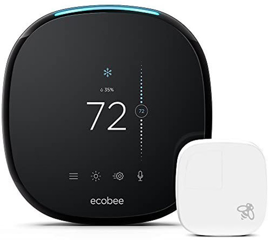 9. ecobee4 Smart Thermostat with Built-In Alexa