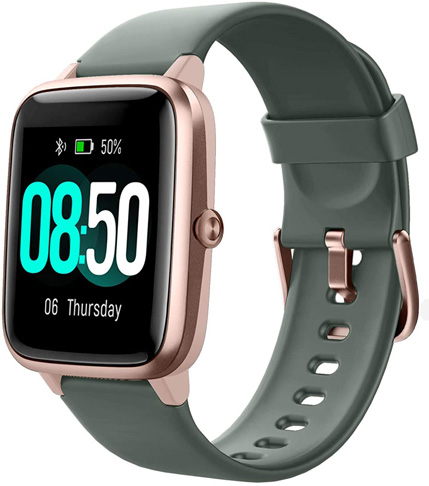 3. YAMAY Smart Watch Fitness Tracker Watches for Men Women - Preferred