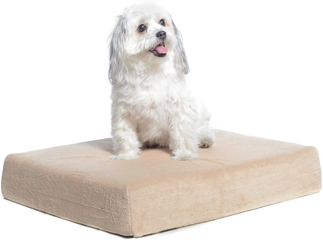 5. Milliard Premium Orthopedic Memory Foam Dog Bed