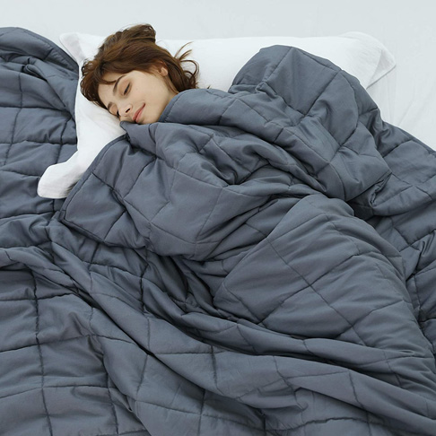 10. Weighted Idea Cool Weighted Blanket