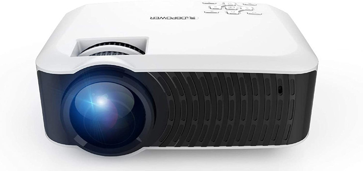 9. DBPOWER 120 ANSI Portable LCD Projector